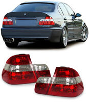 REAR TAIL LIGHTS BMW E46 SEDAN SALOON 9/2001-3/2005 FACELIFT MODEL NICE GIFT