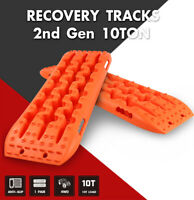 X-BULL Recovery Tracks Sand Traction 10T Snow Mud Tire Ladder Off-Road Pair 4WD