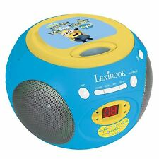 Méprisable Me Minions Radio Lecteur CD New par Lexibook Kids