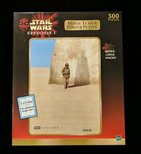 Star Wars Episode I Movie Teaser Poster Puzzle Extra Large 2x3 Feet 300 Pieces