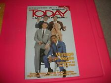 VINTAGE VEGAS ON COVER OF TODAY IN LAS VEGAS - THE RAT PACK