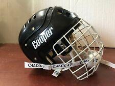 ! Vintage Hockey Helmet Cooper Sk600S Shield Model 484 Jr ! Very Rare ! *