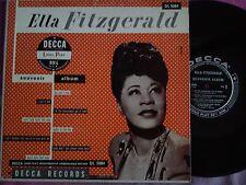 LP 25 cm ELLA FITZGERALD-SOUVENIR ALBUM-I'M THE LONESOMEST GAL IN TOWN + 7
