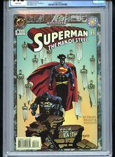 Superman Man of Steel Annual #3 CGC 9.8 White Mignola Cover