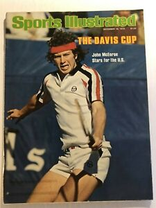 1978 Sports Illustrated THE DAVIS CUP John McENROE No Label STARS FOR THE US N/L