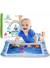 Splashin'kids Inflatable Tummy Time Water Mat For Infant Baby 26� X 20� Paid $28