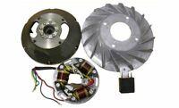 Stator Plate & Flywheel Bajaj 6V-5 Wire Vespa VNB, VBB, VBA