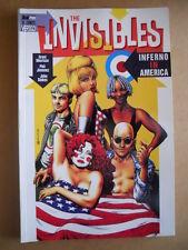 THE INVISIBLES : Inferno in America  - Book Magic Press 1998  [G476]