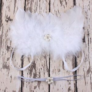 Soft Newborn Baby Toddler Angel Wings Costume Photo Photography Props Outfits