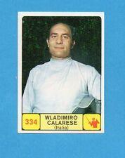 CAMPIONI dello SPORT 1968-69-Figurina n.334- CALARESE -ITALIA-SCHERMA-NEW