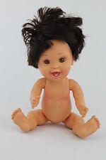 Vintage Baby Face 1991 Galoob bathtub doll So Happy Hannah # 20 dark hair & eyes