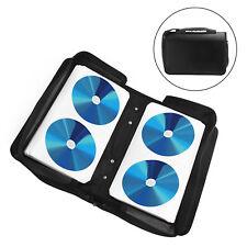 120 CD DVD Disc Disk Carry Case Wallet Bag Storage Folder Ring Binder Compact UK