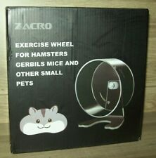 "Zacro Hamster Exercise Wheel 8.7"" Silent Running Wheel for Hamsters, Gerbils, Mi"