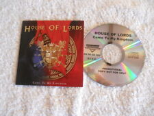 "House of Lords ""Come to my Kingdom"" 2008 cd Frontiers Rec. Promotional NEW Voice"
