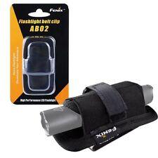 New Fenix AB02 Flashlight Belt Clip With 360 Degree Rotation, Fits 18-26mm Torch