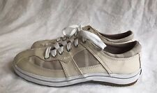 Keds Craze Plaid Women's Khaki Tan Tennis Shoes Sneakers WF42213M - Size 6 M