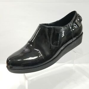 Cole Haan AIR Black Patent Leather Air Tali Size 5B Shoes Waterproof Rain Shoes
