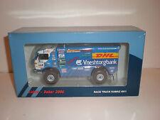"""1/43 RUSSIAN RACE TRUCK  KAMAZ-4911 #508  """"DAKAR""""  2006 Eligor"""