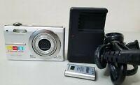 Olympus FE FE-370 8.0MP Digital Camera - Silver *GOOD/TESTED*