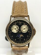 Orologio Philip Watch Lunar Vintage Swiss Made Placcato 31mm Scontatissimo Nuovo