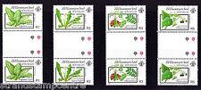 Seychelles (ZES) - 1989 plantas venenosas (serie 1st) - U/M-SG 198-201 Canalones