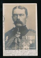 Military GENERAL LORD KITCHENER u/b RP PPC used 1902