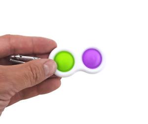 1x Simple Dimple Dual Fidget Toy Audible Stimulant