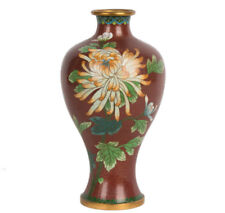 China 20. Jh. Emaille - A chinese Cloisonne Enamel Vase - Vaso Cinese Chinois