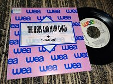 """THE JESUS AND MARY CHAIN Head on 45 7"""" 1989 WEA *SPAIN* PROMO DOUBLE SIDE"""