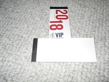 Washington Mystics Vip Unused Complete Ticket Book 2018