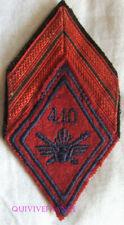 IN12738 - LOSANGE DE BRAS DU 410° Régiment d'Artillerie Antiaérienne