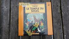 Disque tintin et le temple du soleil version rare pour médiathèque ou studio