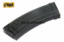 CYMA Mid-Cap 140rd Airsoft Toy Magazine For AK47 AEG (Black) CYMA-C96-1PCS