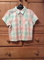 Girls New Look 915 cropped shirt age 14 years ex con