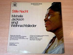 EX/EX- !! Mahalia Jackson/Stille Nacht/1966 CBS LP/Silent Night/German Issue