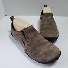 Merrell Jungle Glove Gunsmoke Brown Leather Barefoot Running Hiking Shoes Sz 8