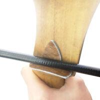 2Set Archery Arrow Rest  Leather Fur Stick Silent Plate Recurve Longbow Shooting