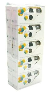 Lot of 10 Cameras Balloon Design White Disposable Wedding Supplies with 10 Shots