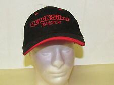 Quicksilver Transport Red Black Dog Daze Adjustable Hat
