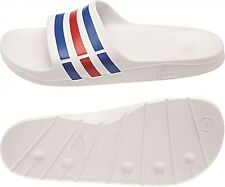 buy online 90e90 2663f Adidas chanclas Duramo slide Blancopower Bluered S09 (blanco) 47 1