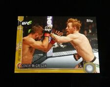 Conor McGregor UFC ~ 2015 Topps UFC Chronicles GOLD Parallel Numbered /88