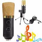 USB Podcast Condenser Microphone Sound Studio Recording MIC w/Stand Tripod New