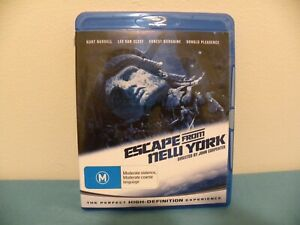 Escape From New York (Blu-ray, 2009) Excellent Disc - All Regions