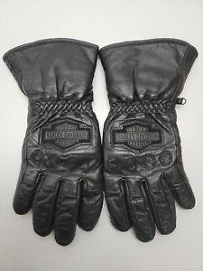 Harley Davidson motorcycle gloves, mens,leather gloves