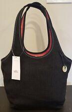 The Sak Crochet Black Handbag