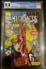 CABLE DEADPOOL ANNUAL #1 8-BIT NEW MUTANTS 98 HOMAGE VARIANT CGC 9.8 MARVEL
