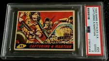 1964 Mars Attacks UK #25 PSA 2 Capturing A Martian England A&BC 1962 Topps abc