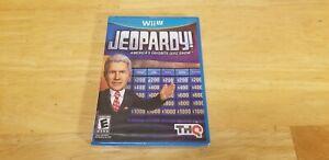 NEW JEOPARDY!  (Nintendo Wii U, 2012) Factory Sealed