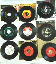 LOT OF 9-RECORDS, 45's, ROCK & ROLL  60's-70's..           {R&R#5/1}