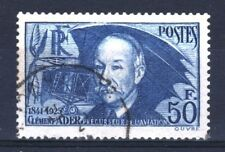 """FRANCE STAMP TIMBRE YVERT 398 """" CLEMENT ADER 50F OUTREMER """" OBLITERE TB R856"""